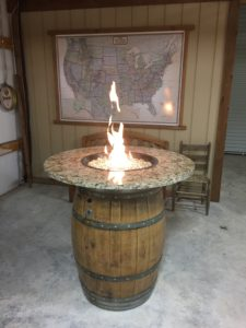 Tall Fire Pit